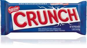 CRUNCH because is soo crunchy =)