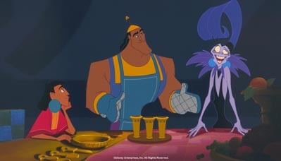 I really like Emperor's New Groove; then The Little Mermaid.