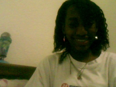 i like my hair it's not curly but Nappy:p but it was braided
