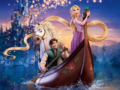 TANGLED!!!! And Alice in Wonderland.