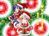 My प्रोफ़ाइल icon(For now) is Konata Izumi and Miyuki Takara(Wearing Chrsitmas Outfits :>) and their from the दिखाना Lucky तारा, स्टार :3