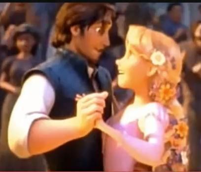 Rapunzel and Flynn :D