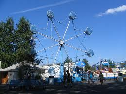 Amusement park rides :D