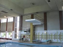 My nearest pool. It's nicer and bigger and less 1980's than it looks: