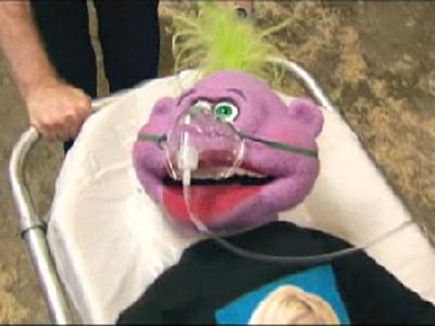 Jeff Dunham's puppet peanut.