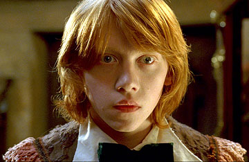 Ron Weasly. Just look at his cute little face! :3