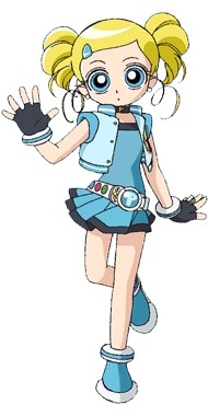 Why don't you use the Powerpuff Girls Z version of Bubbles?