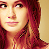 Karen Gillan!! I think this is such a cool photo!