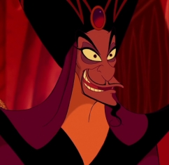 It would be Jafar. He was my first animated crush. My सेकंड would be Claude Frollo.