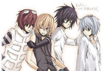 The whole Wammy House crew from Death Note (including BB)But out of the five I would have to pick Matt. ^^