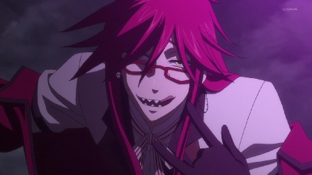 My husband is Grell Sutcliff ~♥! A HOT homosexual flamboyant shinigami X3 I upendo you!!! I even made a ring and engraved my name with his. So he's mine!