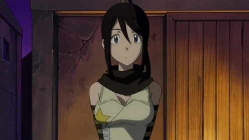 for me right now is tsubaki from soul eater and my friend zei that sometimes i act like her so um yea plus she really cool well to me