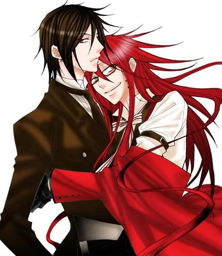 All through summer I obsessed on RanmaXShampoo (Ranma 1/2) and DuncanXGwen (Total Drama Island). Then around late November I got into GrellXSebastian (Black Butler), which was my first yaoi couple in a while. 0.o BUT YAY FOR 20011... sorta... 8D