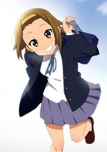 many people zei I'm like Ritsu Tainaka from K-ON! cause I'm a little bit tomboyish,energetic,love to having fun and many more..me and Ritsu have sooo much similiarities!!! XD not only we have the same personality,but our hairstyle and hair colour is the same!