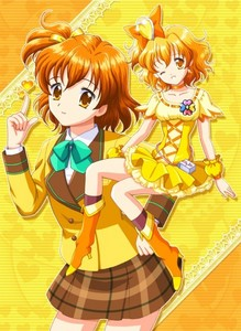 I thought all night and finally I know what my true love... Inori Yamabuki from Fresh Pretty Cure. She's sooooooooooooooooooooo cute!!
