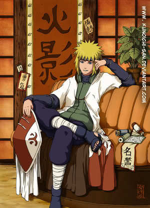 Minato Namikaze!!!! If I saw him the first thing I would to be fainting <3