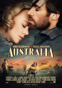 "My お気に入り movie is ""Australia"" Set in northern Australia before World War II, an English aristocrat who inherits a sprawling ranch reluctantly pacts with a stock-man in order to protect her new property from a takeover plot. As the pair drive 2,000 head of cattle over unforgiving landscape, they experience the bombing of Darwin, Australia, によって Japanese forces firsthand. Im rating the above 7/10 :)"