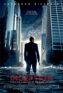 Inception. Dom Cobb is a skilled thief, the absolute best in the dangerous art of extraction, stealing valuable secrets from deep within the subconscious during the dream state, when the mind is at its most vulnerable. Cobb's rare ability has made him a coveted player in this treacherous new world of corporate espionage, but it has also made him an international fugitive and cost him everything he has ever loved. Now Cobb is being offered a chance at redemption. One last job could give him his life back but only if he can accomplish the impossible-inception. Instead of the perfect heist, Cobb and his team of specialists have to pull off the reverse: their task is not to steal an idea but to plant one. If they succeed, it could be the perfect crime. But no amount of careful planning または expertise can prepare the team for the dangerous enemy that seems to predict their every move. An enemy that only Cobb could have seen coming. It's seriously amazing. I recommend it to everyone.