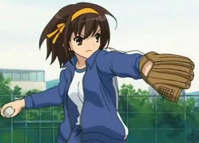 My Wifey would be Haruhi Suzumiya♥!...or Ran :P