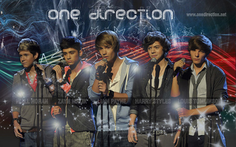 This is mine!! One Direction!! I Cinta them especially Niall!!!!:)