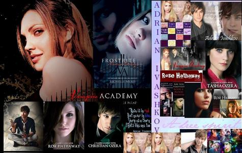 A Vampire Academy thingy I pieced together on paint.