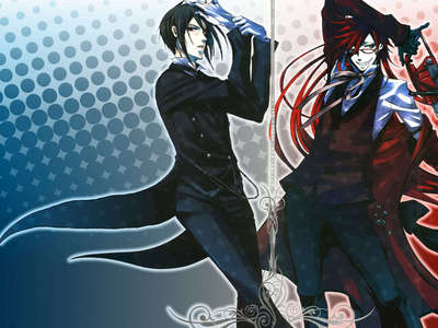 At the moment, it's this beastly picture of Sebastian Michealis and Grell Sutcliff. 8D