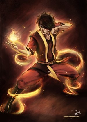 I am completely obsessed with the nick cartoon ipakita Avatar: last airbender and the percy jackson series