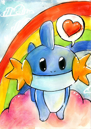 Well i personally think Mudkip is one of the cutest~! ;D