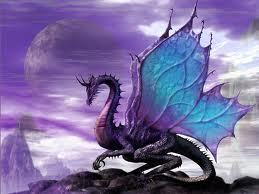 I would be a pretty cool purple dragon! (or maybe green xD)