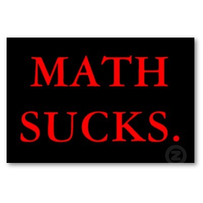 i hate Math and Justin Beiber Music