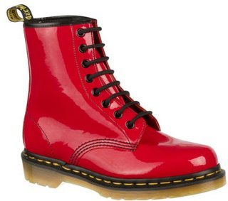 My red Dr. Martens. I f***ing 愛 them! :D They look like these down :D | | | V