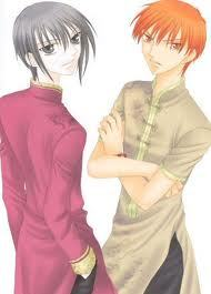 Kyo and Yuki from Fruits Basket and Cound D from Pet koop of horrors