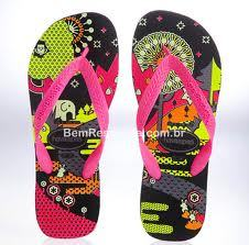 Havaianas that glow in the dark.