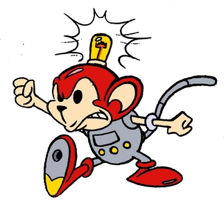I Amore the robo-monkey named coconuts!!! =D