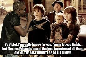 I didn't make this, but I found it on Google. Oh, how I Amore Kanye West jokes. ♥