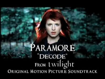 """I'm gonna have to go with Decode da Paramore from the first movie....every time I hear the beginning of the song I like flashback into the woods...""""say it.. out loud""""....lol"""