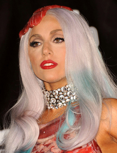 My older sister. She's sort of helped me through a lot. As for celebrities, Lady Gaga is probably my biggest role model.