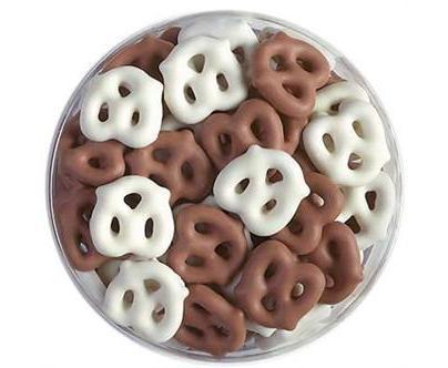 Cioccolato covered pretzels are gooood ;]