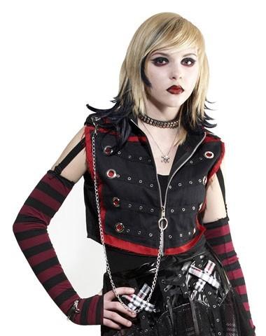 Goth Punk style. Combat Boots Rock music