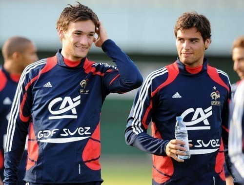 I'm obsessed with Hugo Lloris and Yoann Gourcuff