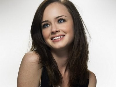 Alexis Bledel. I have many other picks, but Alexis is sweet, funny, innocent, and a great actress.