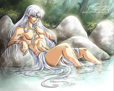 Sesshomaru though he isn't a boy,hes all man!.....But yea hes the guy id like to meet:)