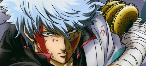 Sakata Gintoki from 《银魂》 forever and after 最喜爱的