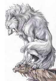 I.....am.......a werewolf. beware...