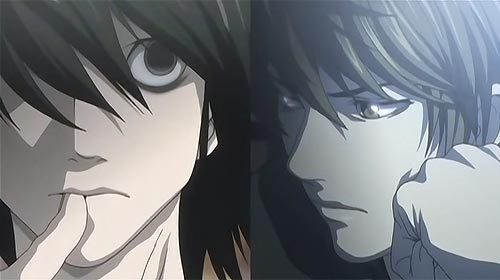 L and Light Yagami XD