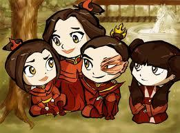Maiko: Zuko and Mai are Happish together,both fire, and thay have known each other for like ever. Zatara: Katara is a poo, and thay dont like each other romanticly. Answer: Maiko
