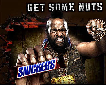 snickers...