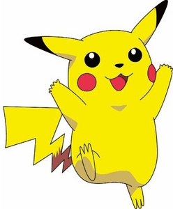 well i know he isn't a celebrety but some girl once told me that i look like pikachu:/ strange, ha?i mean, i'm human not a cartoon character... plus, i am female and pikachu is male-.-