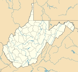 I looked up on Wikipedia and it says there's a পীচ Creek in West Virginia.