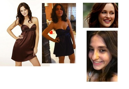 people tell me that i look like leighton meester ...then i startedto like her...hahahh!!!